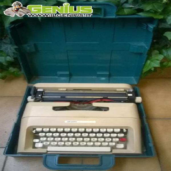Macchina da scrivere olivetti lettera 35 con la sua scatola