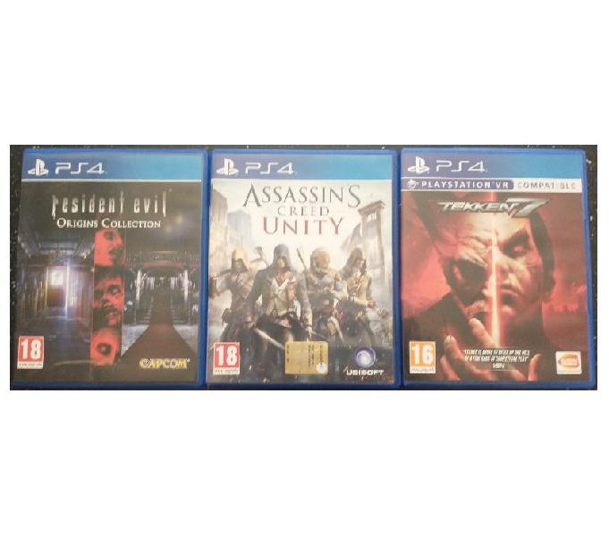 Vendo 3 giochi ps4 come nuovi milano