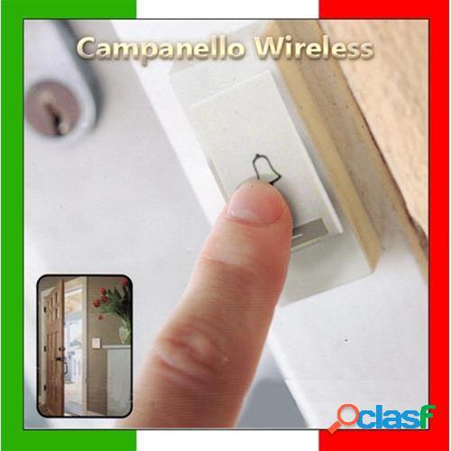 Campanello wireless door bell senza fili a batterie 16 suonerie