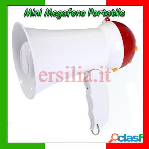 Megafono portatile mini altoparlante voce musica portata 100 metri