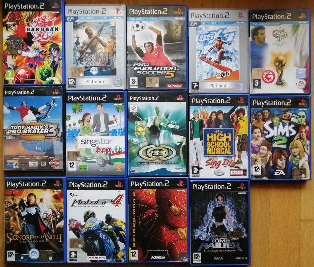 21 giochi ps2 originali