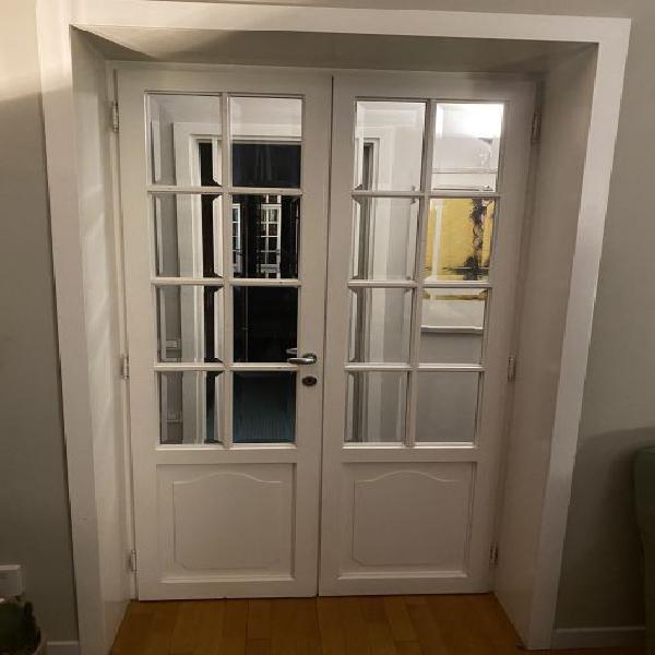 Doppia porta vetri