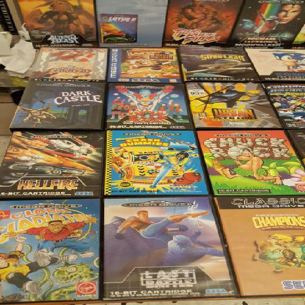 Megadrive giochi console