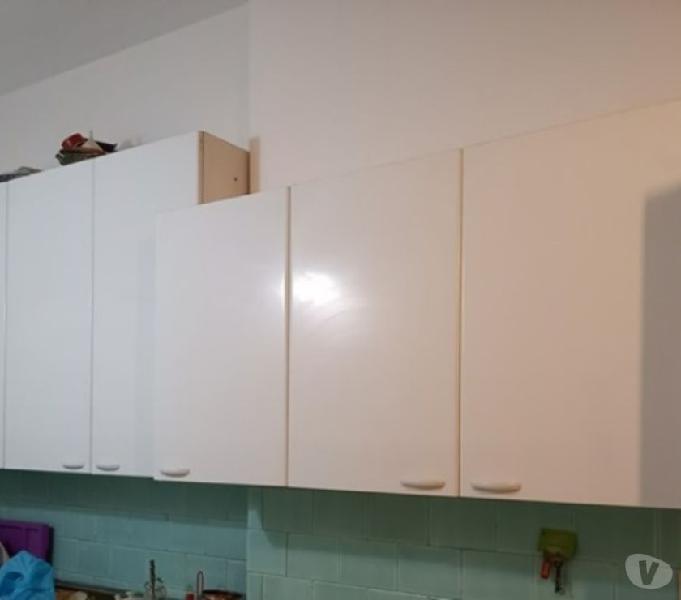 4 pensili bianchi totale lunghezza 270 in vendita roma - vendita mobili usati
