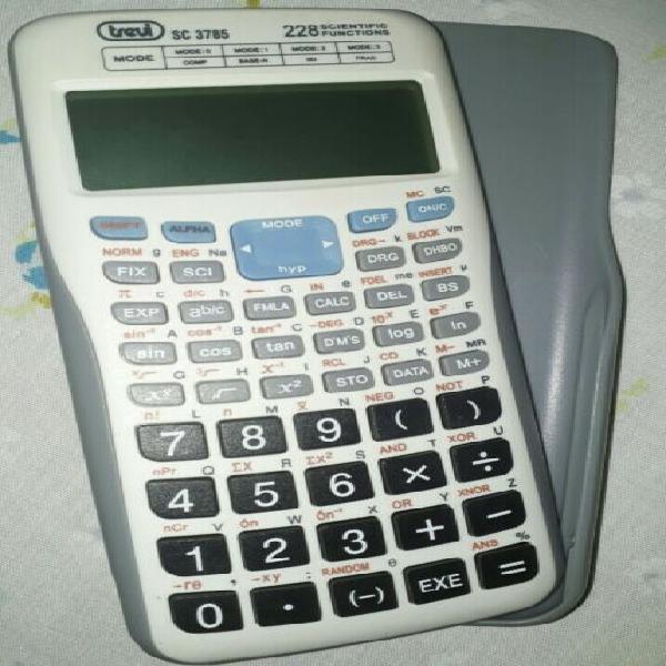Calcolatrice scientifica elettronica trevi