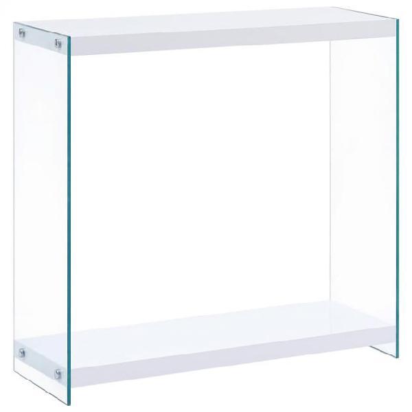 Vidaxl tavolo consolle bianco 80x29x75,5 cm in mdf