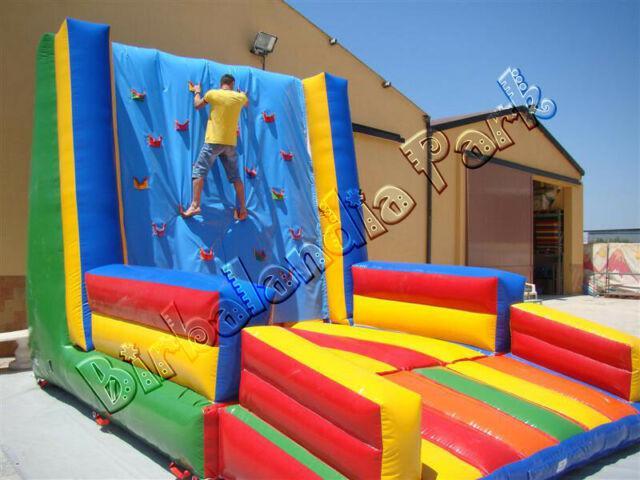 Giochi gonfiabili playground tappeti elastici per bambini