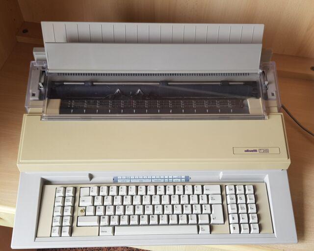 Macchina da scrivere elettronica olivetti et 2450