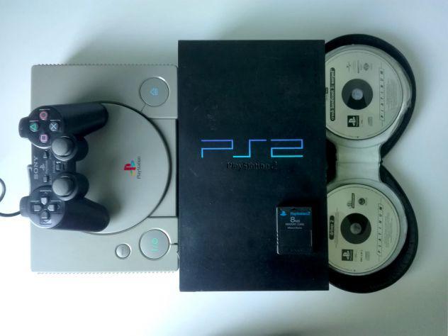 Ps, ps2, 30 giochi originali, memory, controller