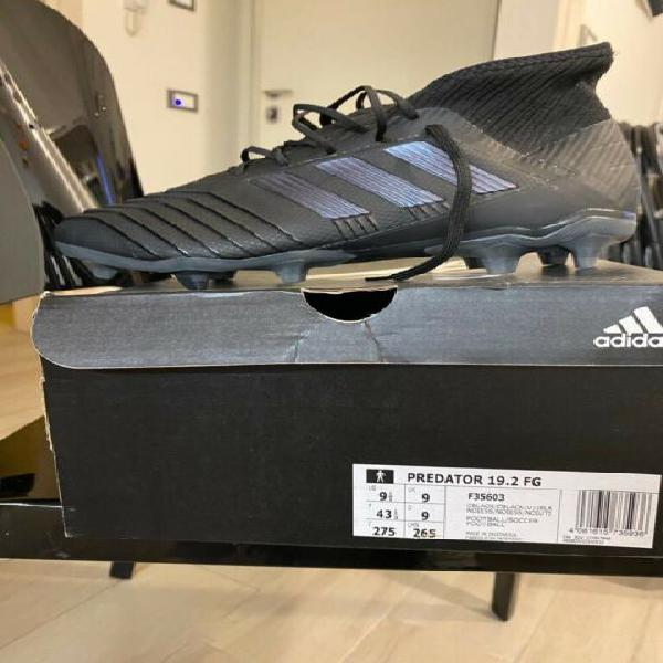 Adidas predator 43 1/3 nuove