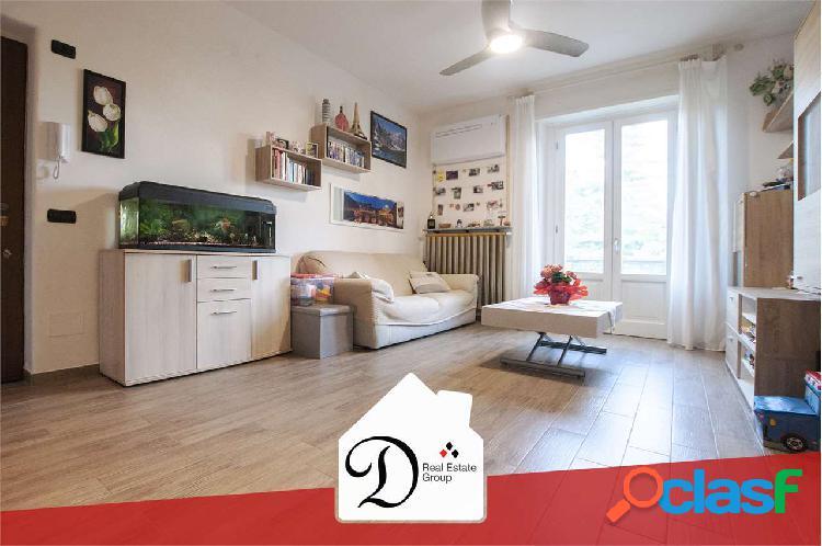 Appartamento trilocale con giardino be-3065