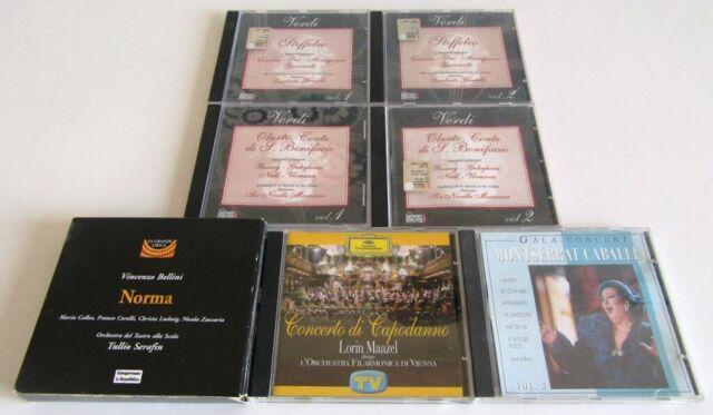 Lotto di 7 cd originali di opere liriche e musica classica