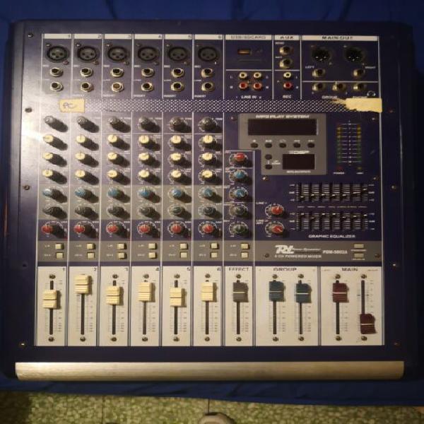 Mixer live con effetti usb 6/8 canali eq usb phantom