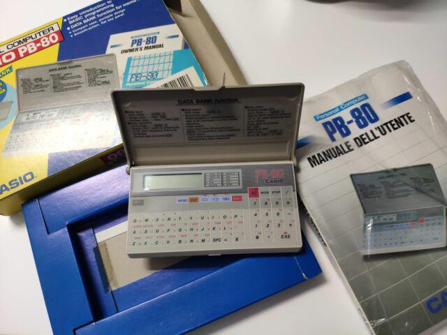 Personal computer casio pb-80