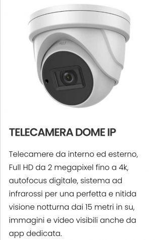 Telecamere videosorveglianza casa negozio attivita'