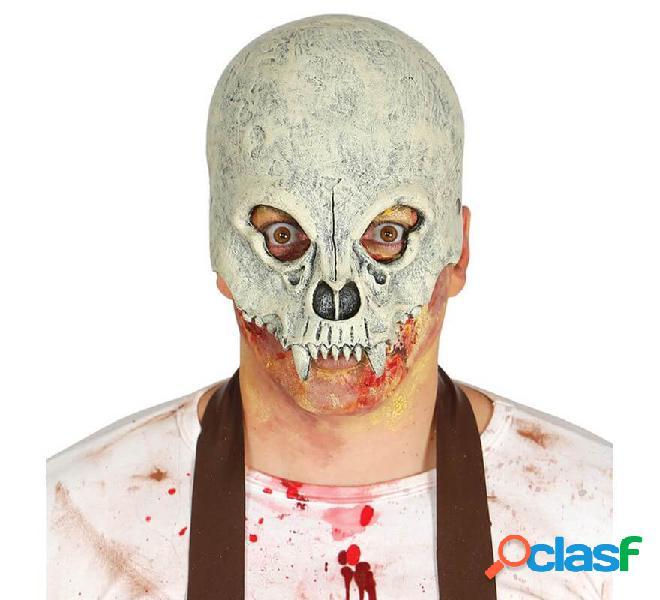 Maschera cranica mezza lattice