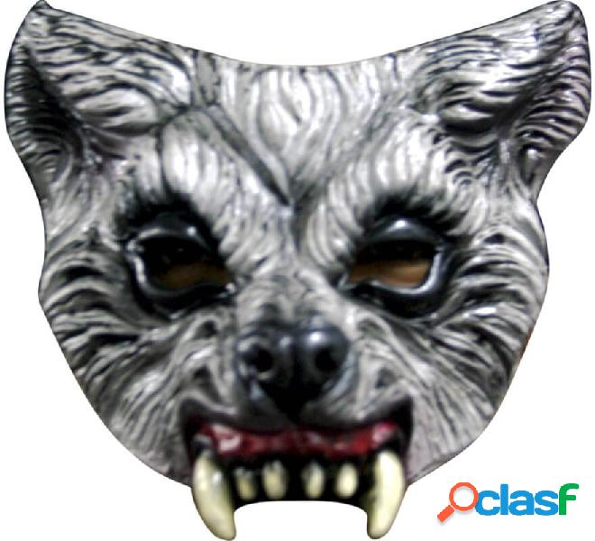 Maschera da lupo mezza faccia