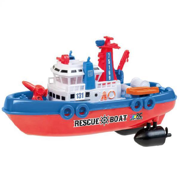 Happy people barca di salvataggio radiocomandata giocattolo