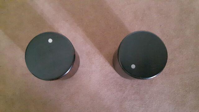 Manopole in legno esotico per radio/stereo