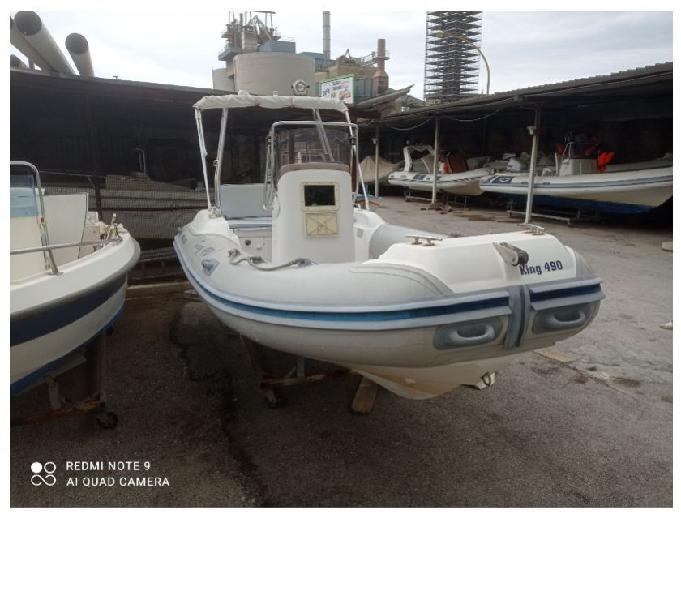 Gommone nuova jolly 490 palermo - barche usate occasione