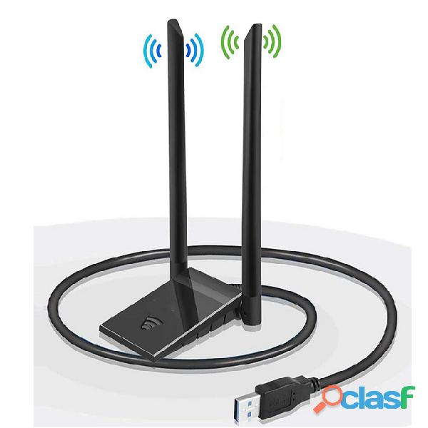 Ricevitore ed amplificatore WiFi con doppia antenna e doppia frequenza