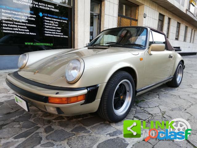 Porsche 911 cabrio benzina in vendita a milano (milano)