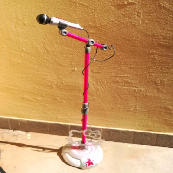 Asta regolabile con microfono Hello Kitty
