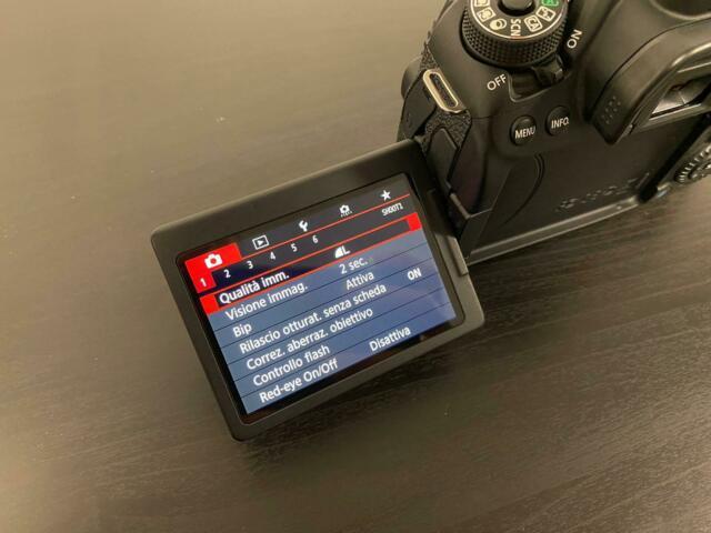 Canon eos 80d come nuova+ obb.