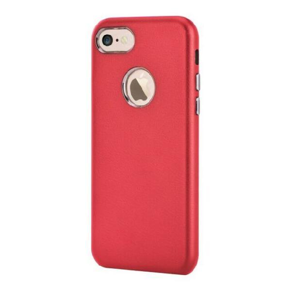Cover Successor con Vista Logo per iPhone 7 Plus Rossa