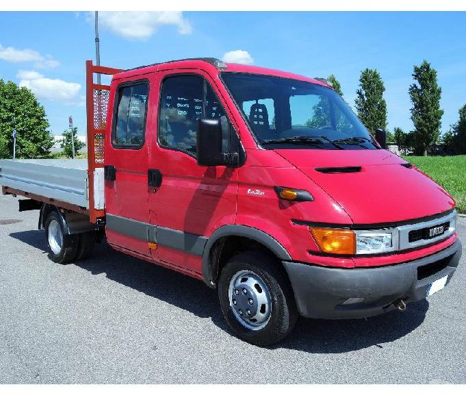Iveco Daily 35C12 Doppia Cabina 7 Posti Campolongo Maggiore - Vendita Camion usati
