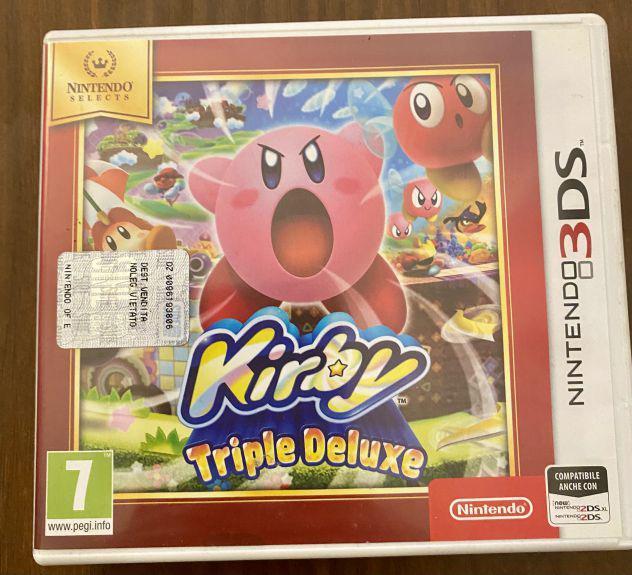 Kirby deluxe nintendo 3ds