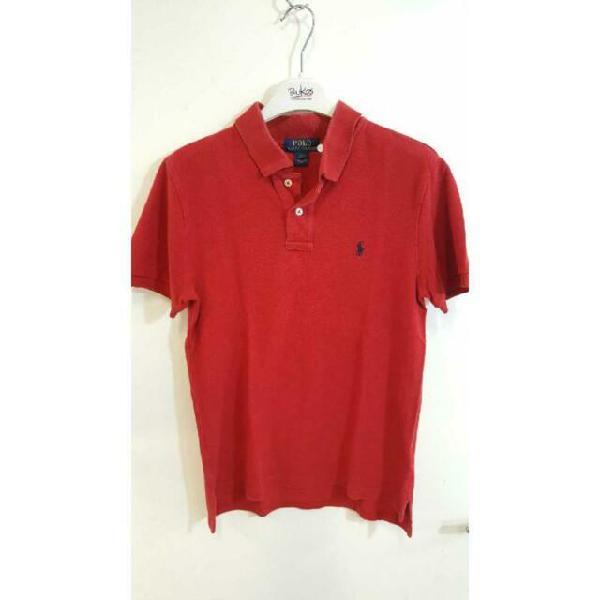 Maglietta polo ralph lauren rosso bo