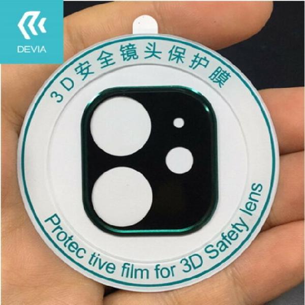 Pellicola protettiva Telecamera posteriore iPhone 11 Nera