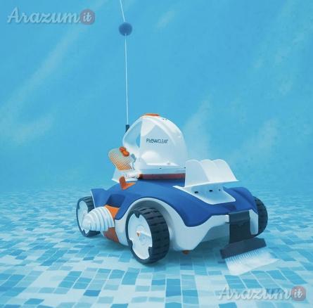 Robot pulitore bestway per pulizia piscina 58482 flowclear a