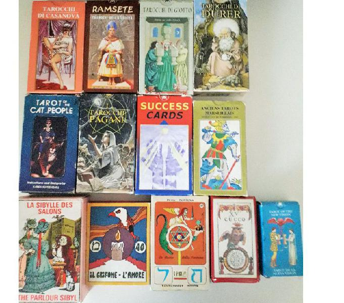 Tarot carte divinatorie anni '60-'70 -'80-'90-2000 Lodi - Collezionismo in vendita