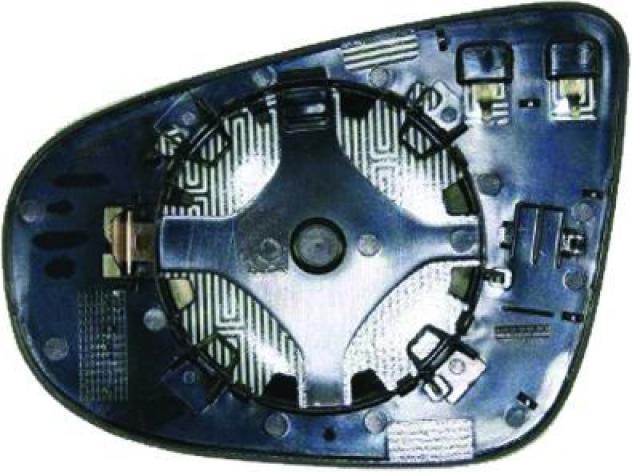Piastra specchio retrovisore termica per volkswagen golf vi