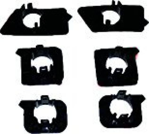Supporto sensori paraurto anteriore kit 6 pezzi per bmw 5