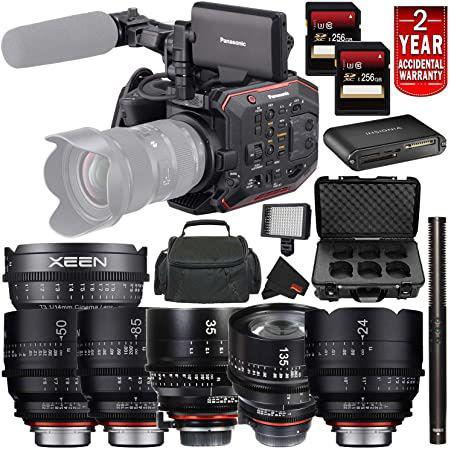 Canon eos c70 super 35mm, panasonic hc-x1 ultra hd 4k, jvc