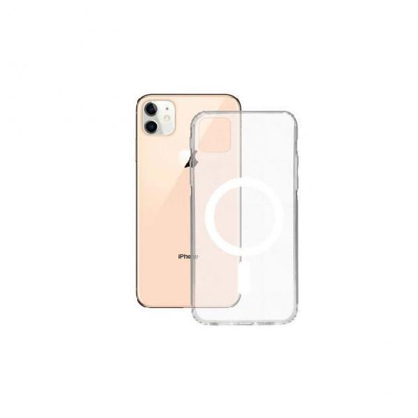 Custodia iphone 12 mini ksix flex tpu trasparente