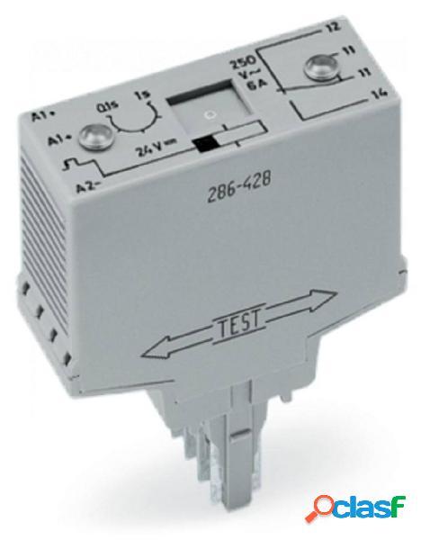 Modulo relè wago 286-426 1 contatto in scambio tensione nominale 250 v