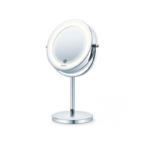 Specchio beurer bs-55 led argentato