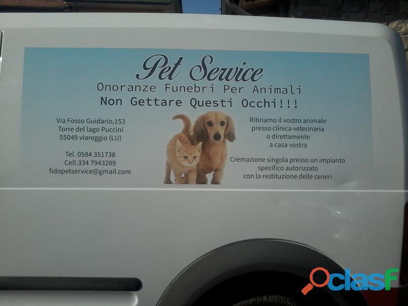 FIDO PET SERVICE CREMAZIONE ANIMALI