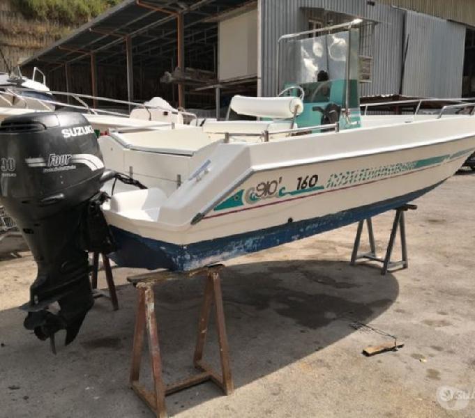 Open prendisole barca privato gio mare 90 4t bacoli - barche usate occasione