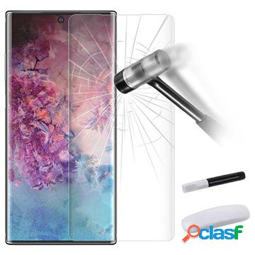 Samsung galaxy note10 tempered glass screen protector with uv light