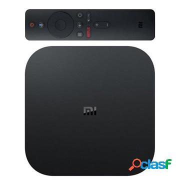 Xiaomi mi box s 4k hdr android 8.1 tv box - nero