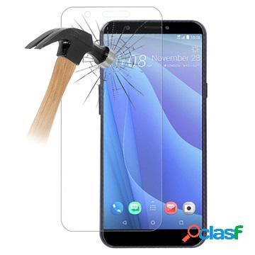 Htc desire 12s tempered glass screen protector - 9h, 0.3mm - clear