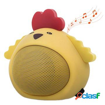 Altoparlante bluetooth forever sweet animal abs-100 - chicky