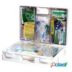 Valigetta di pronto soccorso multisan - 44,3x33,8x14,7 cm - haccp - oltre 3 persone - bianco - pvs (unit vendita 1 pz.)