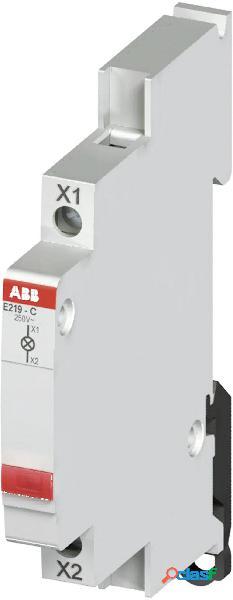 Indicatore luminoso 115 v/ac, 250 v/ac abb 2cca703401r0001