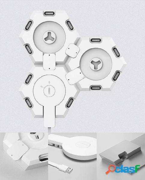 Cololight cololight sistema illuminazione smart home cololight starter kit rgbw alexa, google home